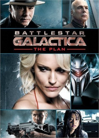 Battlestar Galactica: The Plan - DVD cover