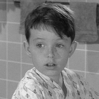 """Beaver Gets 'Spelled - Jerry Mathers in """"Beaver Gets 'Spelled""""."""