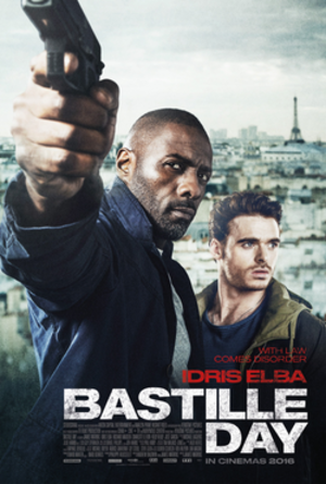 Bastille Day (film) - Theatrical release poster
