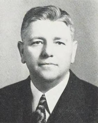 Batsell Baxter - Baxter pictured in Promenade 1939, Pepperdine yearbook