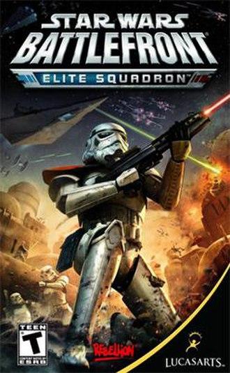 Star Wars Battlefront: Elite Squadron - Image: Battlefront Elite Squadron cover