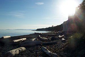Fairfield, Greater Victoria - The beach at Beacon Hill