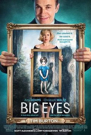 Big Eyes - Theatrical release poster