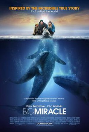 Big Miracle - Theatrical release poster