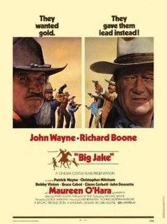 <i>Big Jake</i> 1971 Western film directed by George Sherman