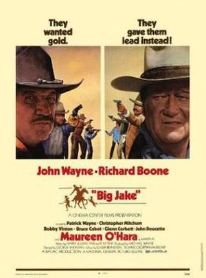 Big Jake - The second version of the theatrical release poster.