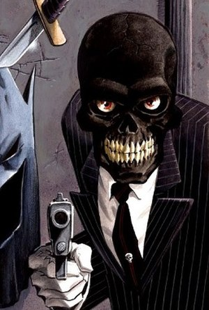 Black Mask (comics) - Image: Black Mask (Roman Sionis)