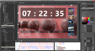 Microsoft Blend - Image: Blend for Visual Studio screenshot