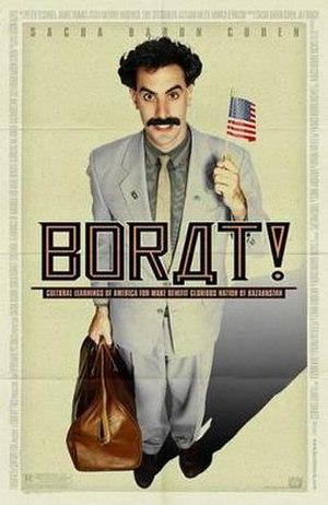 Borat - Theatrical release poster