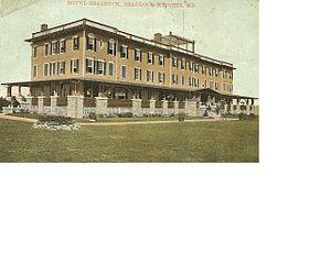 Braddock Heights, Maryland - Braddock Hotel