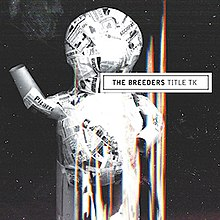 Album cover showing a humanoid structure made out of newspaper cuttings