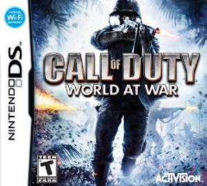 Call of Duty: World at War (Nintendo DS) - North American box art