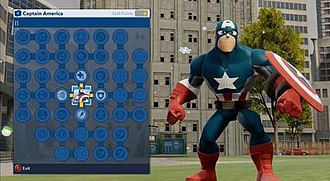 Disney Infinity: Marvel Super Heroes - The Skill Tree upgrade system