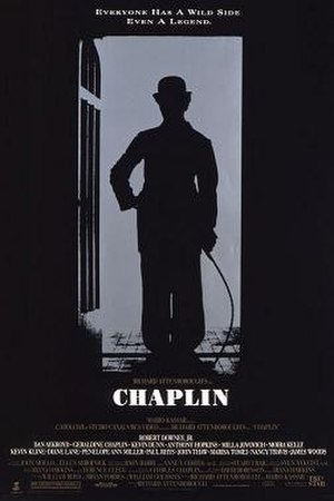 Chaplin (film) - Theatrical release poster