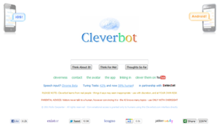 Cleverbot web application