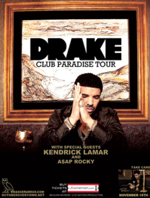 Club Paradise Tour - Image: Club Paradise Tour Poster