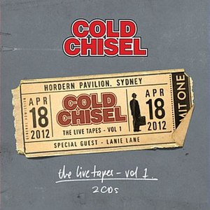 The Live Tapes Vol. 1 - Image: Cold Chisel The Live Tapes Vol. 1