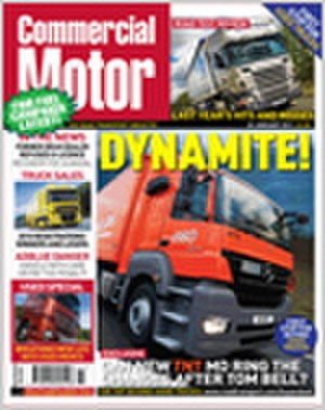 Commercial Motor - Commercial Motor cover, 20 January 2011