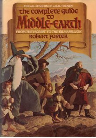 The Complete Guide to Middle-earth - Dust jacket of 1978 edition
