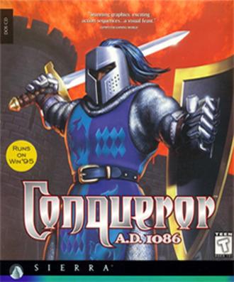 Conqueror A.D. 1086 - Cover art of Conqueror A.D. 1086
