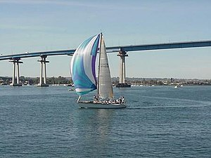 Coronado, California - Coronado bridge