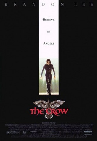 The Crow (1994 film) - Theatrical release poster