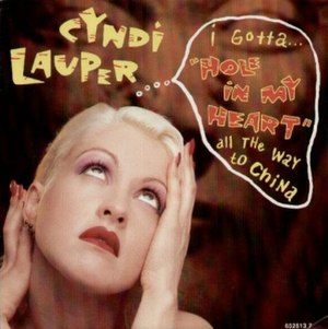 Hole in My Heart (All the Way to China) - Image: Cyndi Lauper .5