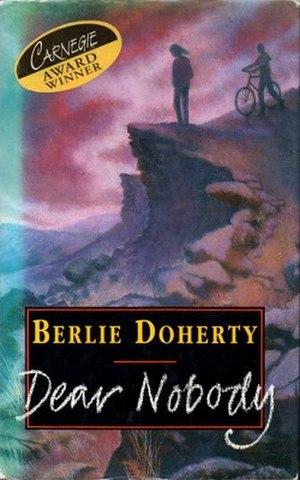 Dear Nobody - First edition