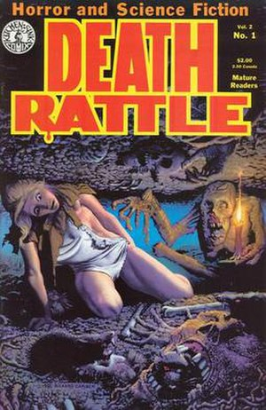 Death Rattle (comics) - Image: Death Rattle vol 2 no 01