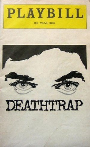 Deathtrap (play) - First Broadway program (1979)