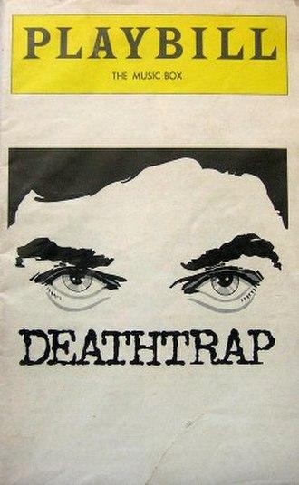 Deathtrap (play) - First Broadway program (1979)