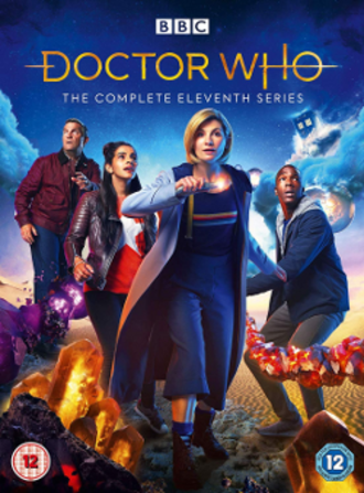 Doctor Who (series 11) - DVD box set cover art