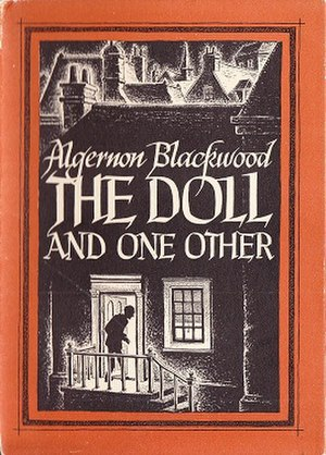 The Doll and One Other - Dust-jacket illustration by Ronald Clyne for The Doll and One Other
