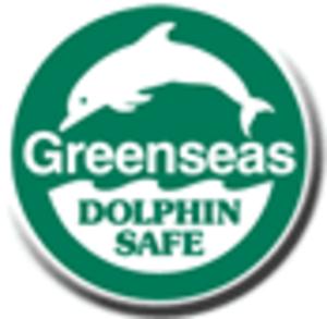 Dolphin safe label - Greenseas dolphin safe label.