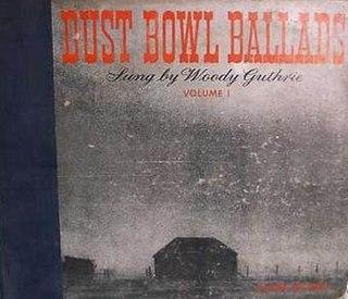 <i>Dust Bowl Ballads</i> 1940 studio album by Woody Guthrie