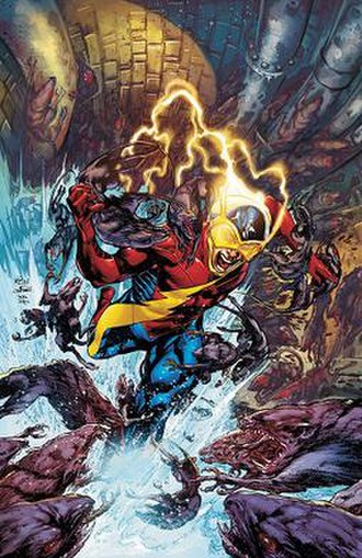 Flash (Jay Garrick) - Image: Earth 2 issue 2