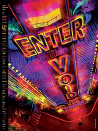 Enter the Void - Theatrical release poster