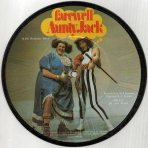 The Aunty Jack Show - Aunty Jack and Thin Arthur from the picture disk Farewell Aunty Jack (1973)