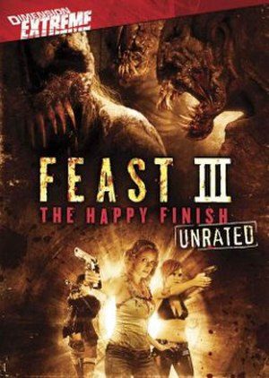 Feast III: The Happy Finish - DVD cover