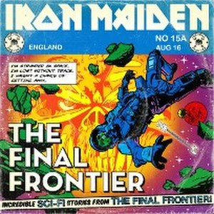 Satellite 15... The Final Frontier - Image: Finalfrontierofficia l 200