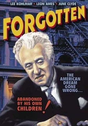 Forgotten (1933 film) - Image: Forgotten Film Poster