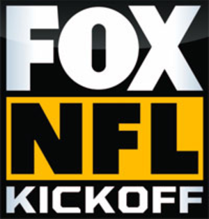 Fox NFL Kickoff - Fox NFL Kickoff logo used during the program's run on Fox Sports 1 from 2013 to 2015.