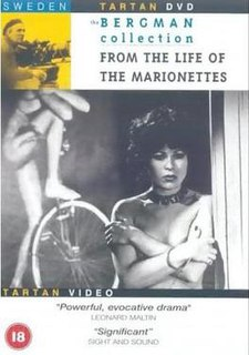 <i>From the Life of the Marionettes</i> 1980 Ingmar Bergmans Television film