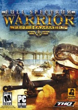 Full Spectrum Warrior: Ten Hammers - Image: Full Spectrum Warrior Ten Hammers Coverart