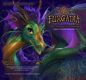 Furcadia - Login screen for Furcadia