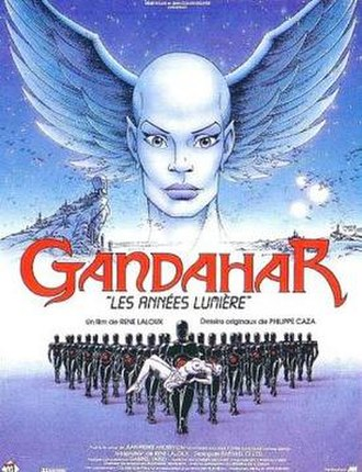 Gandahar (film) - French film poster