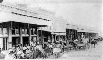 Hutto, Texas - Downtown Hutto before cars
