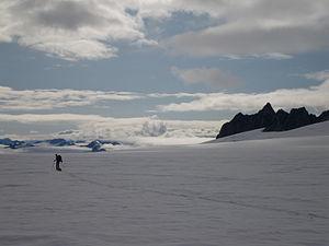 Harding Icefield - Harding Icefield near Tustumena Glacier