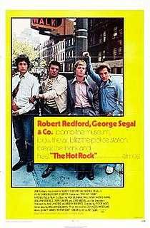 <i>The Hot Rock</i> (film) 1972 film by Peter Yates