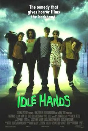 Idle Hands - Theatrical release poster